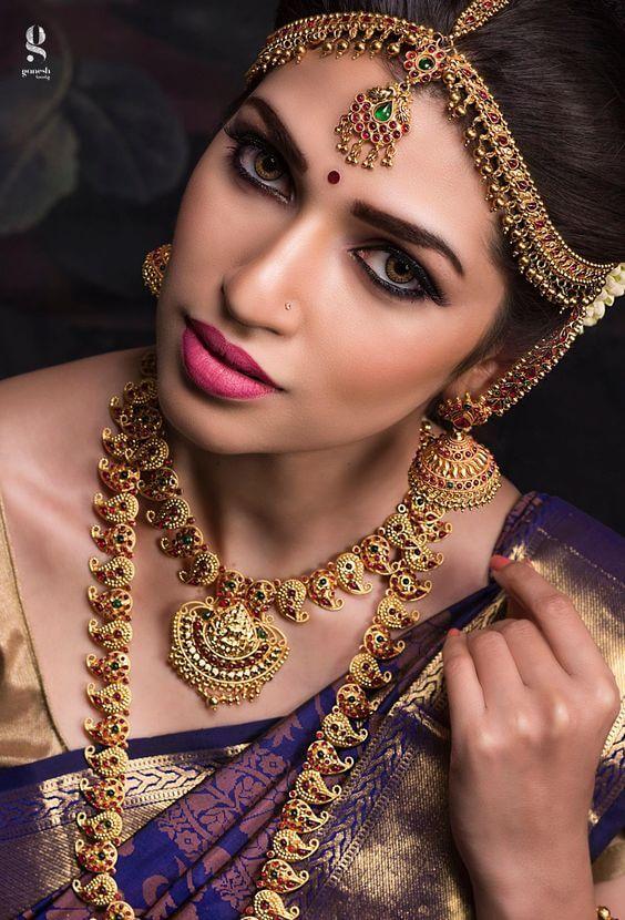 Nude Tamil Bridal MakeUp