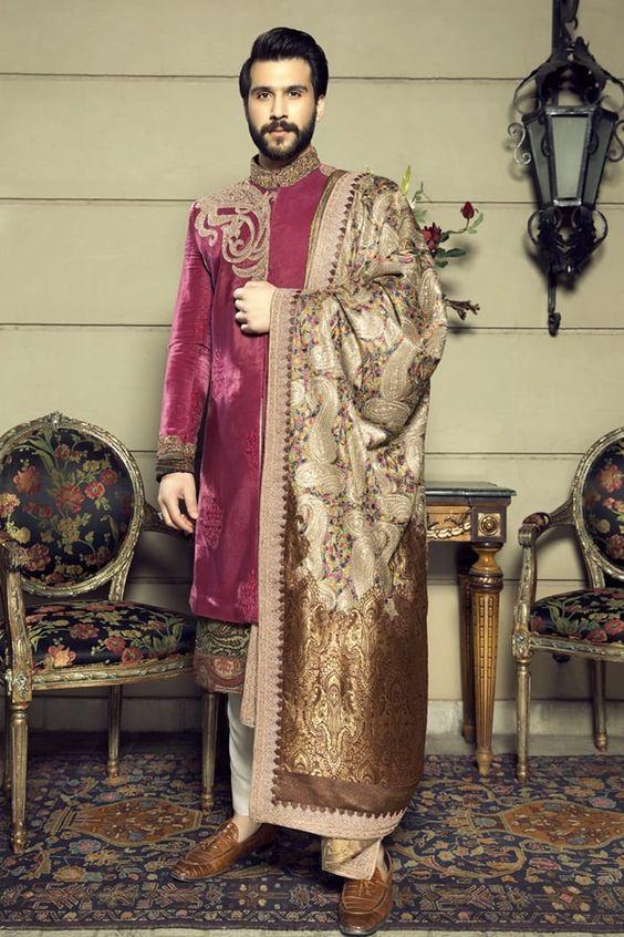 Pakistani groom wear