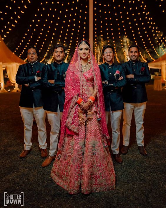 Pictures Of Brides With Their Brothers