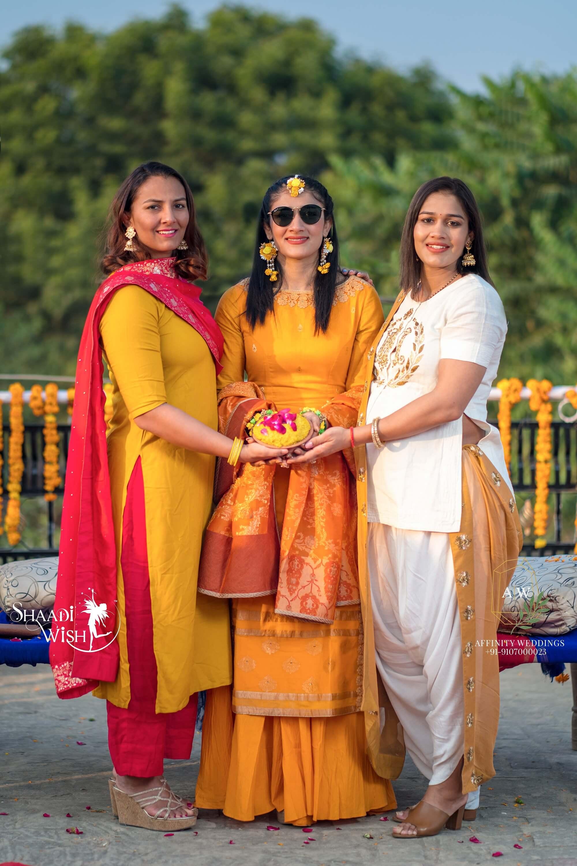 Sangeeta Phogat bridesmaids