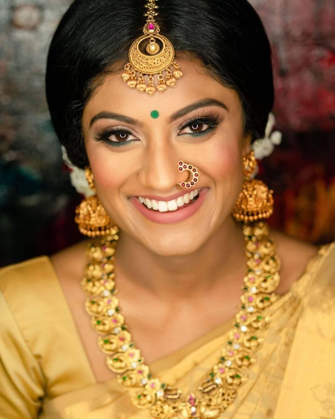 Tamil Bridal Kohl Eye Look
