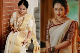 blouse designs for kasavu saree