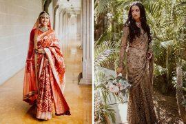 bridal sabyasachi sarees