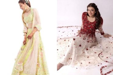 kajal aggarwal pre wedding looks