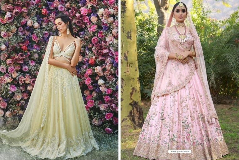 Elegant And Classy Pastel Lehengas That Are In Vogue This Season