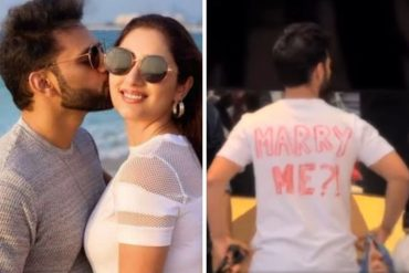 rahul vaidya proposes to girlfriend