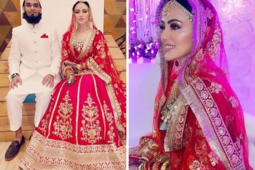 Sana Khan's wedding