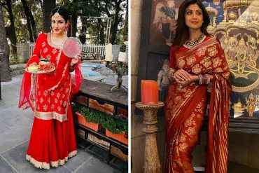 Bollywood Celebrities Karwachauth Outfits