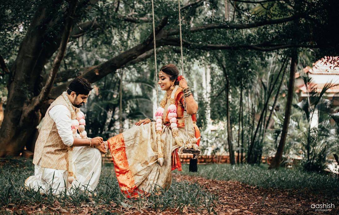 South Indian Couple Portrait