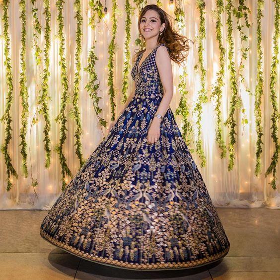 Designer Indo-Western Gown
