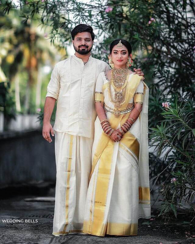 Blouse Designs For Kasavu Saree