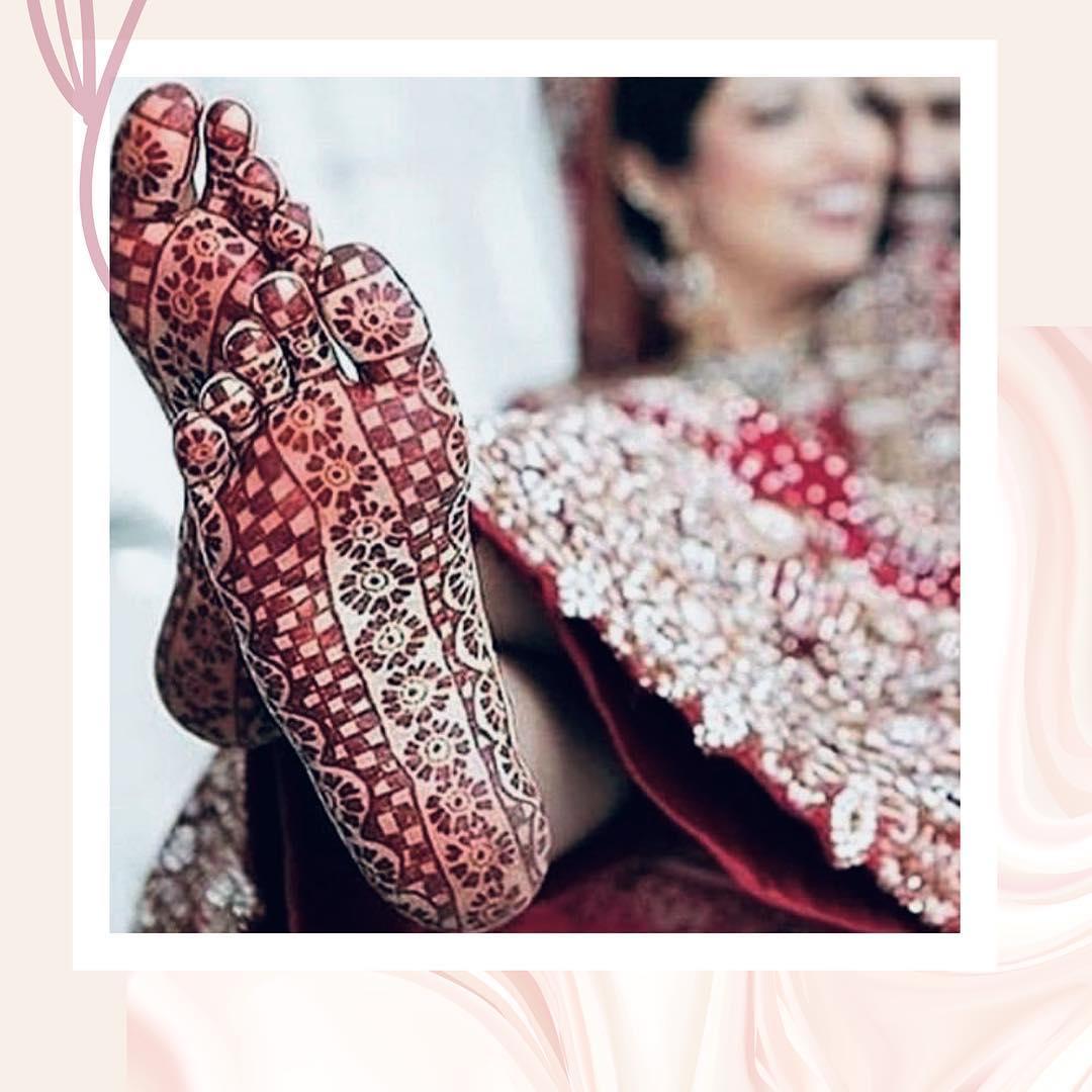 bridal Floral mehendi