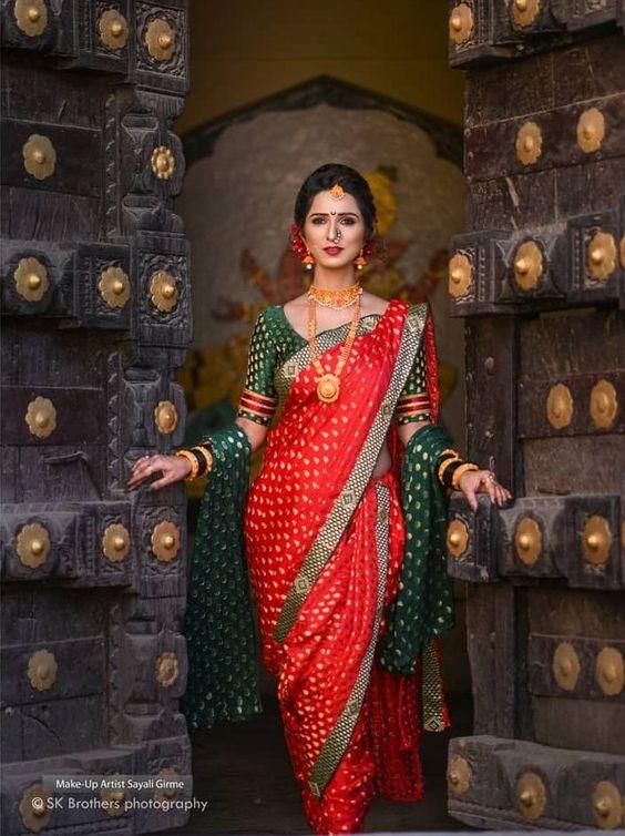classic Nauvari sarees