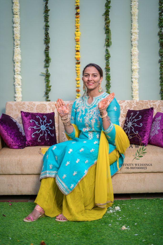 Sangeeta Phogat's Mehendi Ceremony