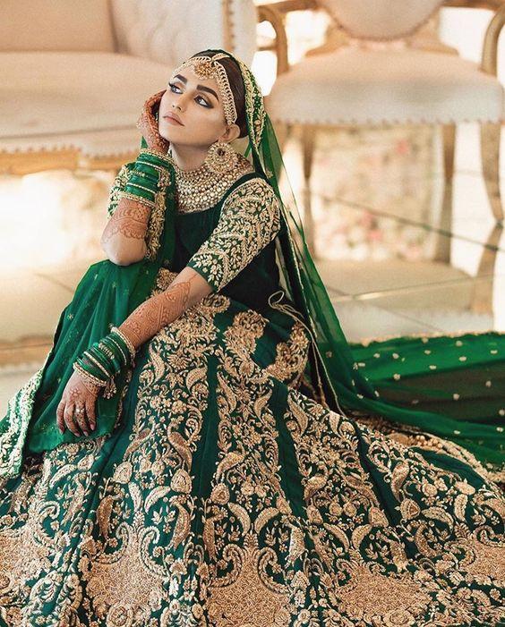 bridal green chooda