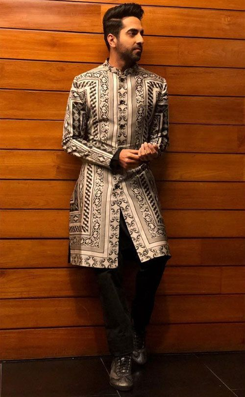 groom Printed Sherwanis