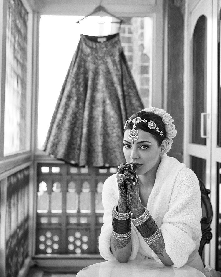 kajal agarwal bridal shoot