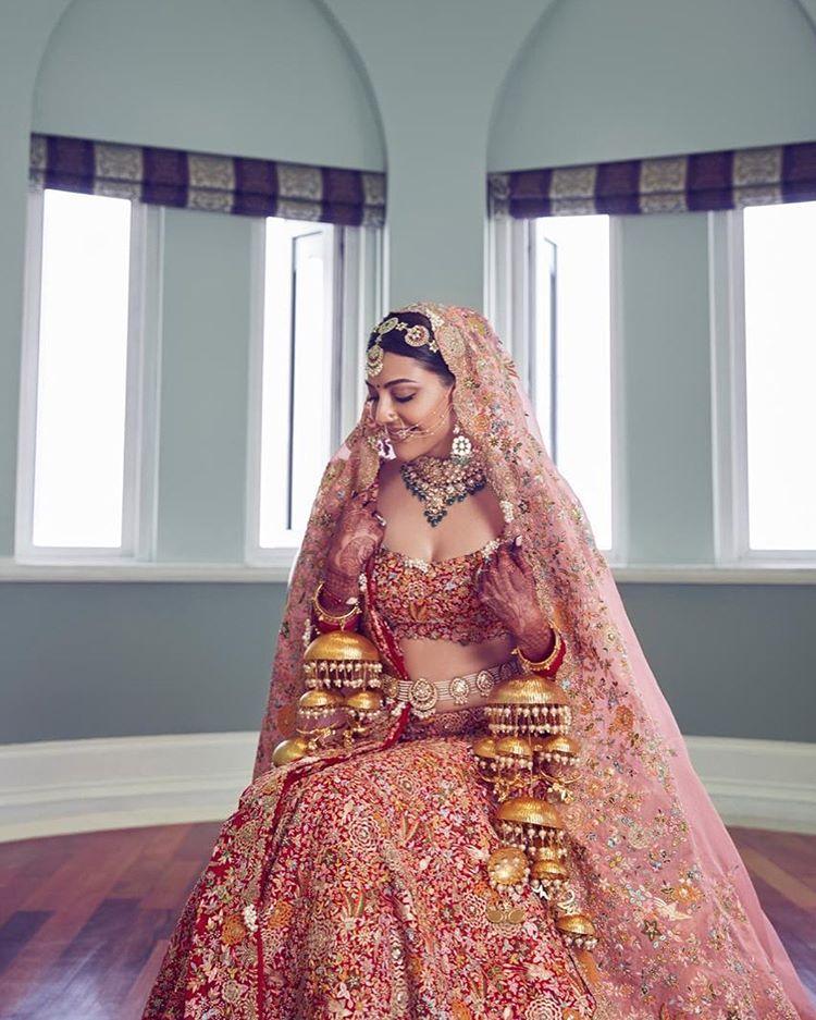 kajal aggarwal bridal look