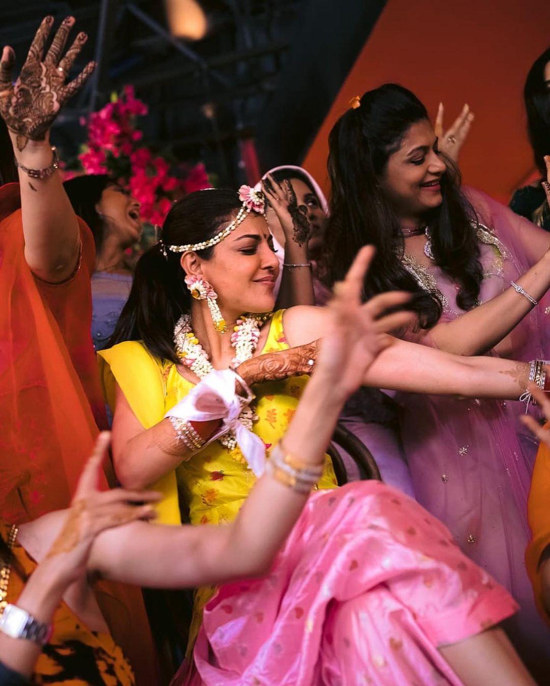 kajal aggarwal dancing