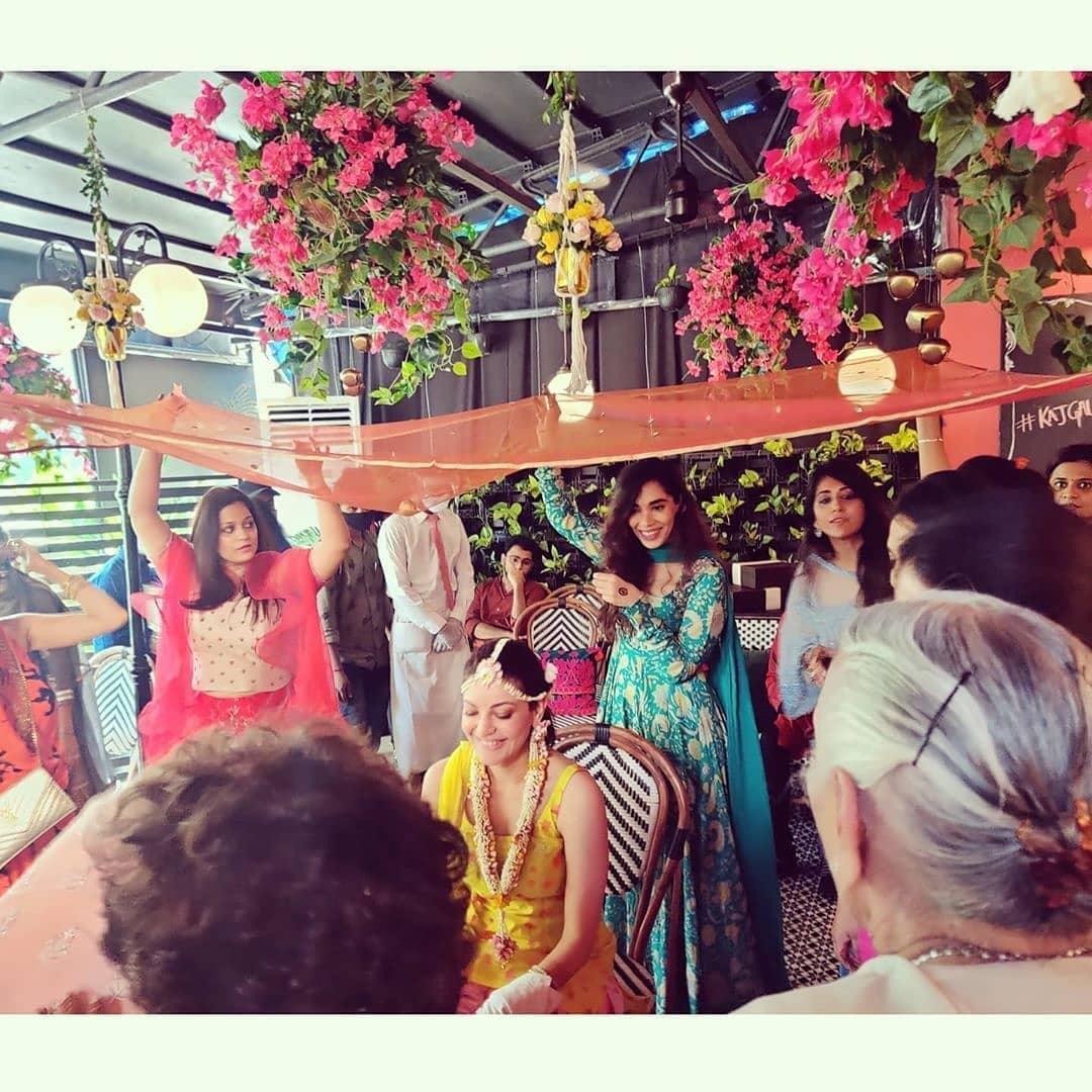 kajal aggarwal haldi ceremony