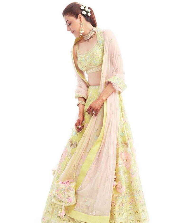 Kajal Aggarwal Pre-Wedding Looks