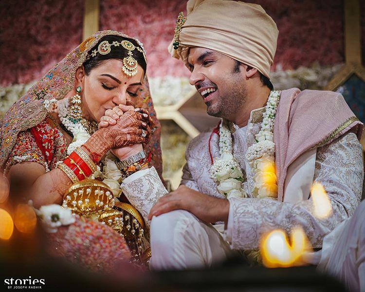 kajal aggarwal south indian wedding