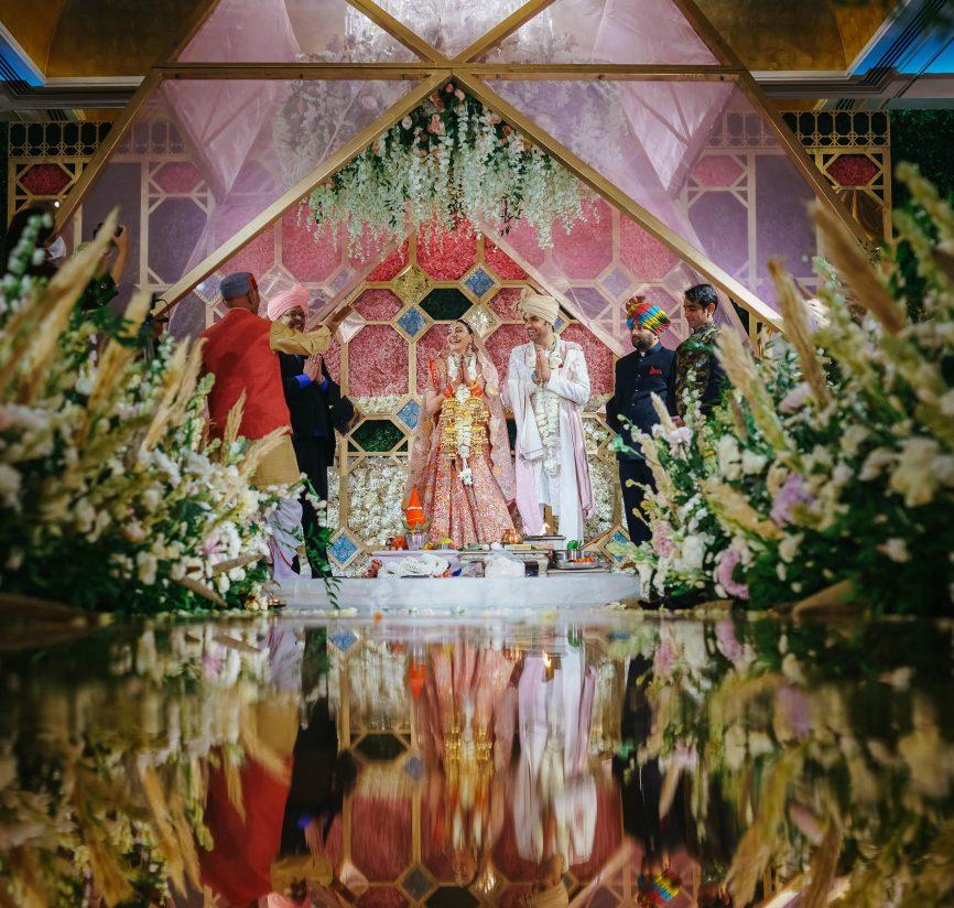 kajal aggarwal wedding decor