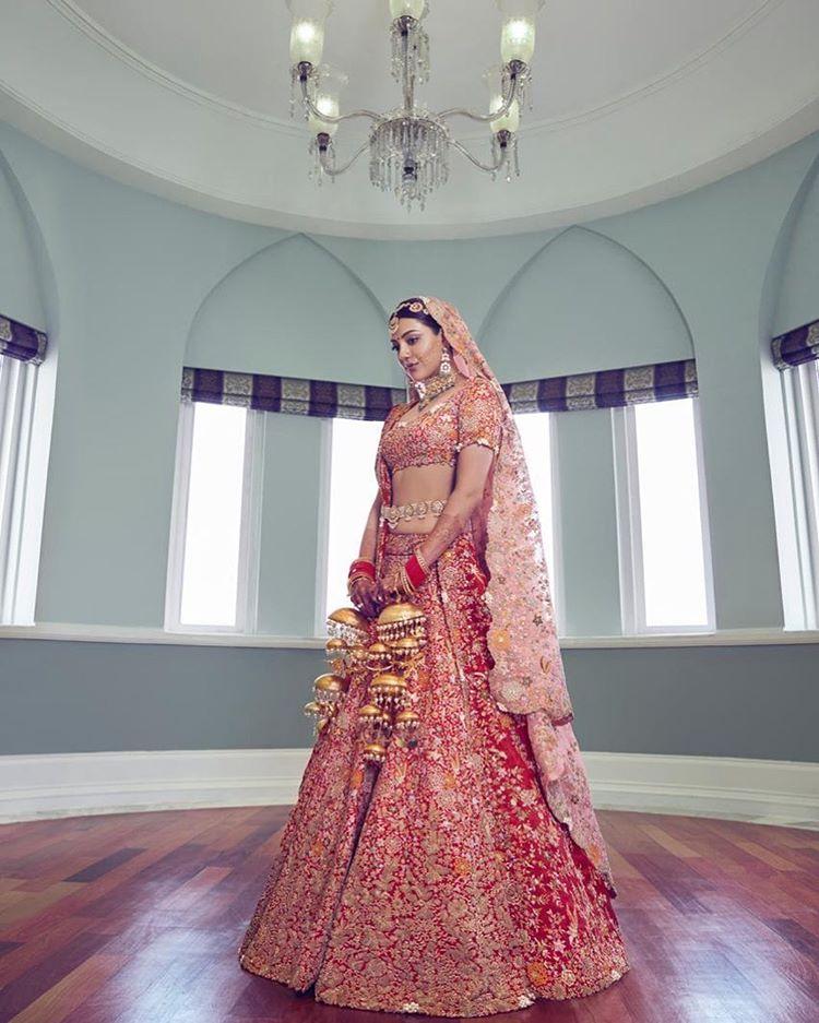 kajal aggarwal wedding look