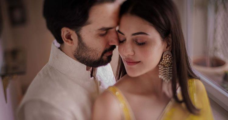 kajal & gautam engagement shoot