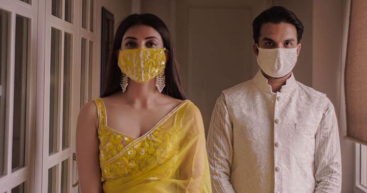 Kajal & Gautam's engagement