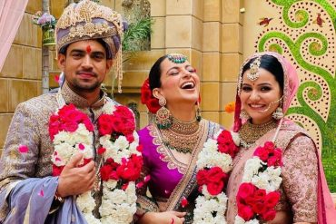 kangana ranaut's brother's wedding