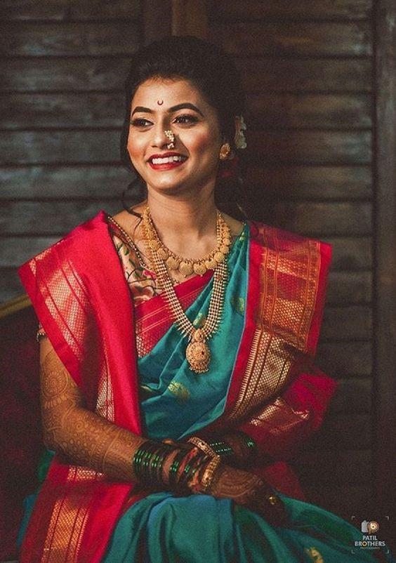 maharashtrian traditional saree