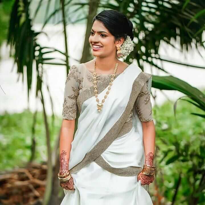 bridal blouse trends