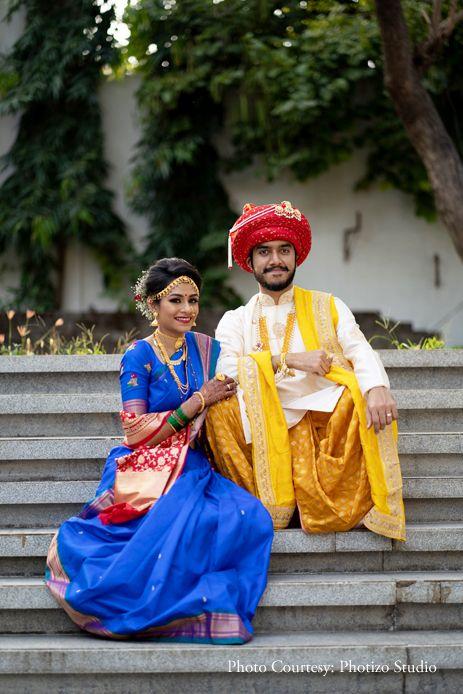 peshwa groom pagri