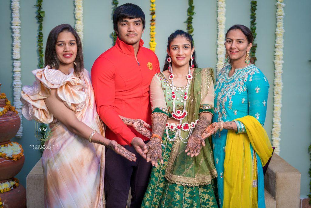 phogat family portrait