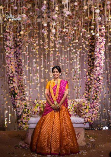 pastel bridal swing