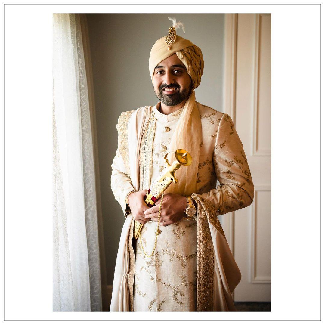 royal groom pagri design