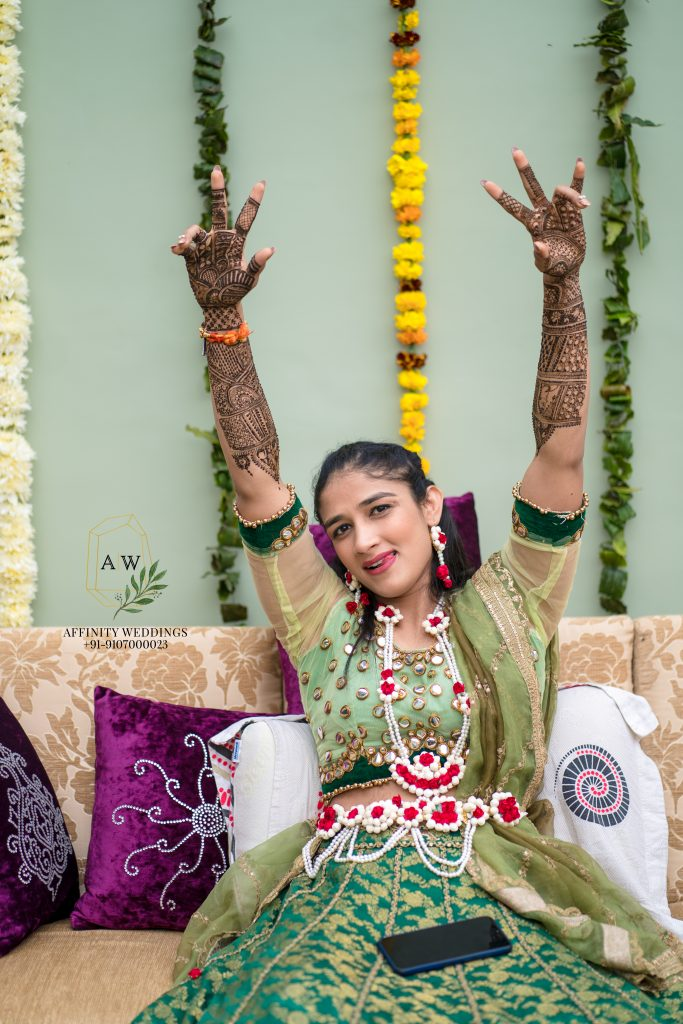 Fun-Filled Pictures From Sangeeta Phogat's Mehendi Ceremony