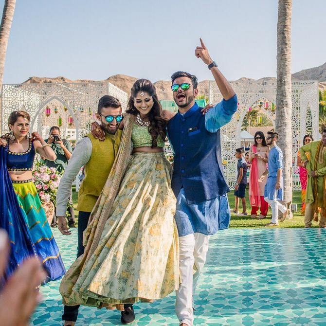 sangeet songs for bride and brother