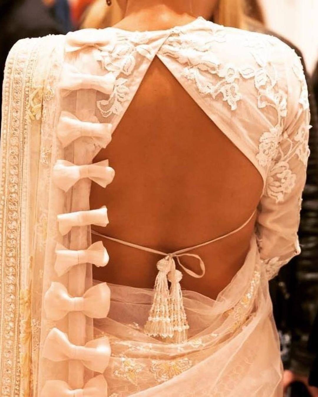 white dori blouse