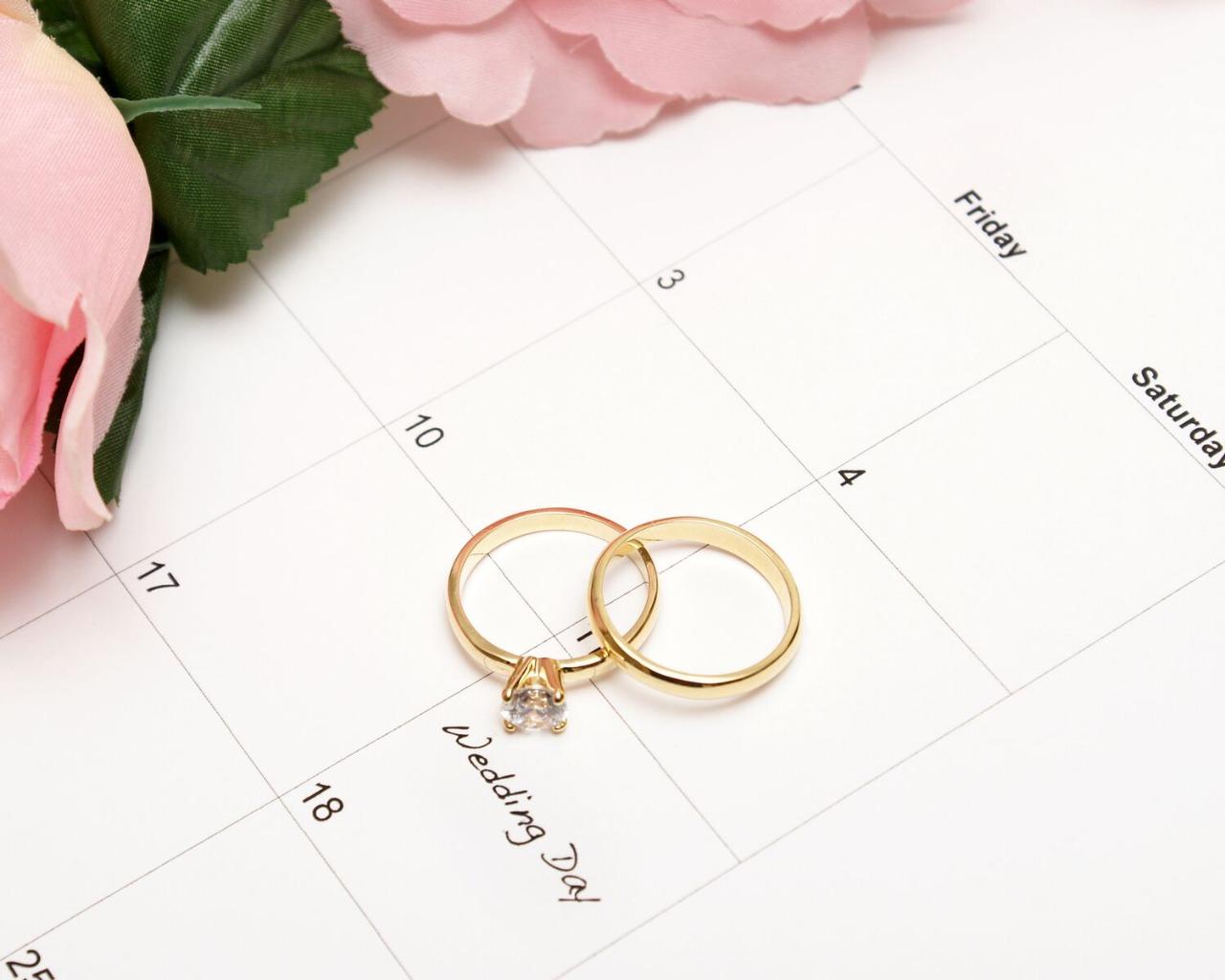 2020 Wedding Calendar