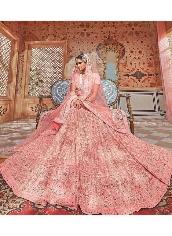 Blush Pink Lehenga