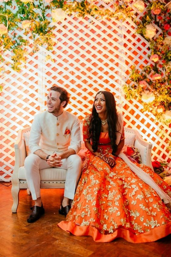 Bright Colors Wedding Theme