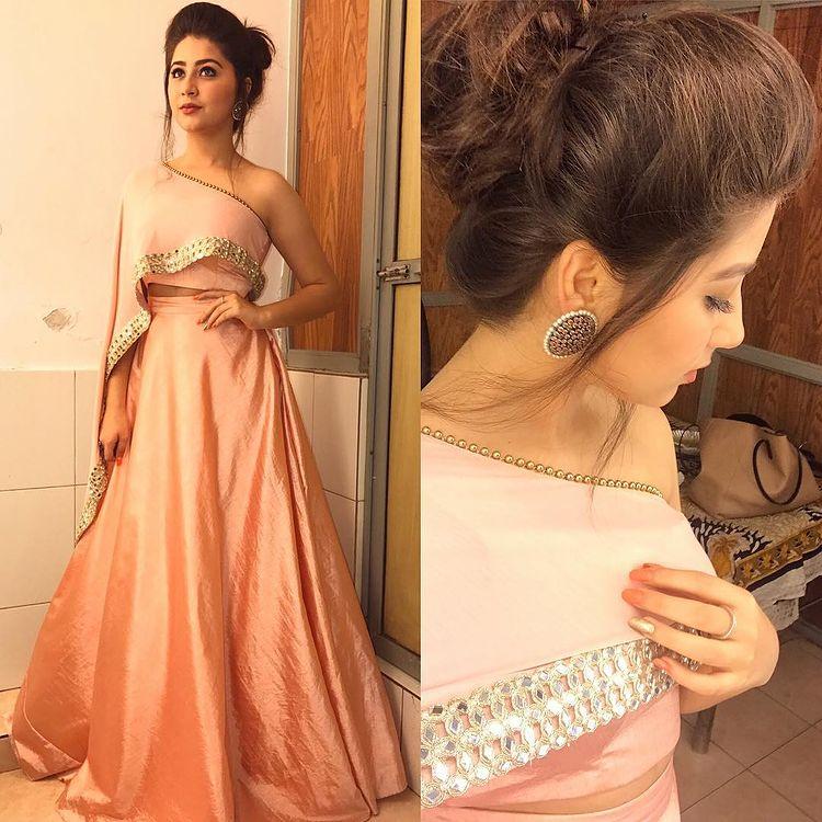 Cream Bridesmaid Dress