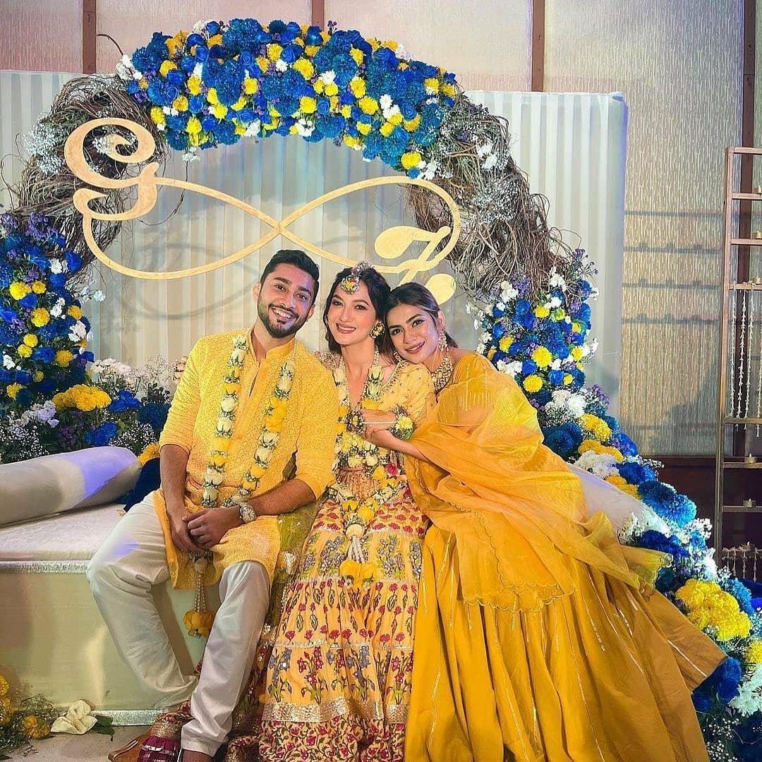 Gauahar Khan's Pre-wedding celebrations