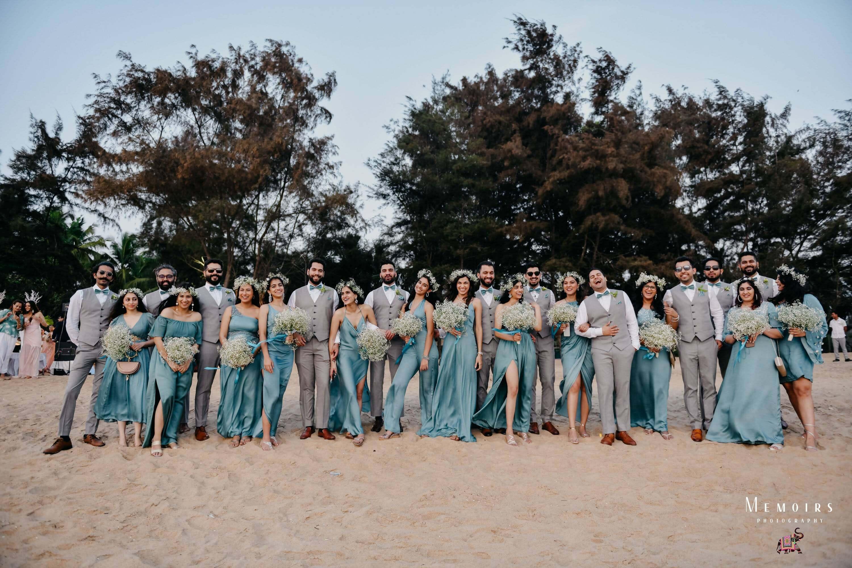 groomsmen & bridesmaids