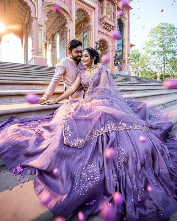 Lavender Themed Wedding Photography