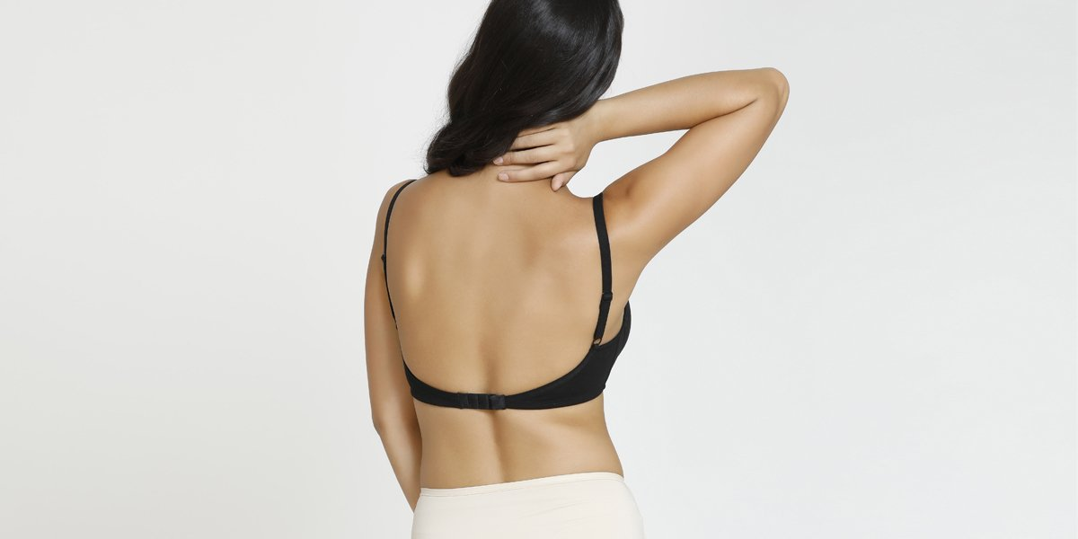 Low back type of bra