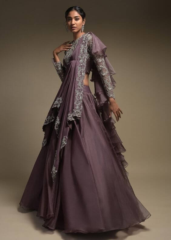 Mauve Purple Wedding Colors for 2021