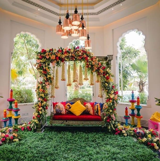 Multicolored Wedding Decor